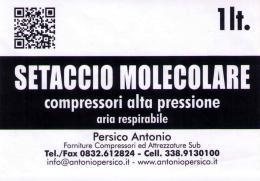 Setaccio - Molecular Sieve - Antonio Persico